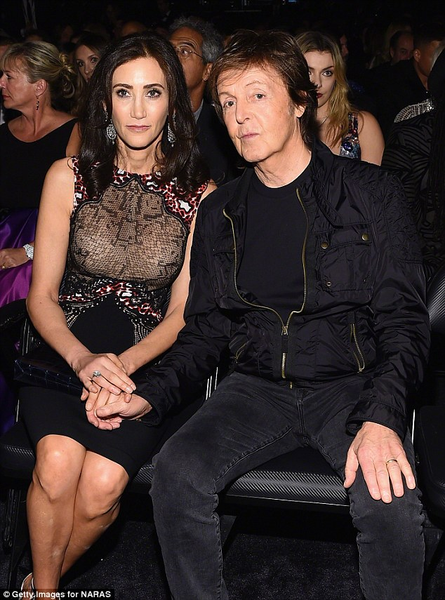 Paul Mccartney with only wife