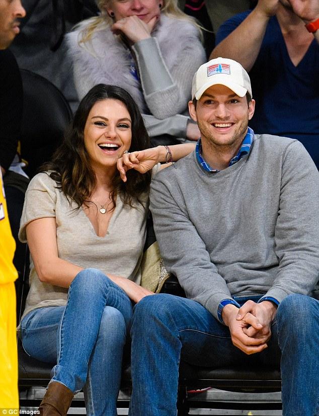 Kunis and Kutcher