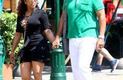 Steve Harvey with his wife