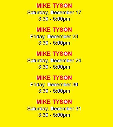 Tyson event