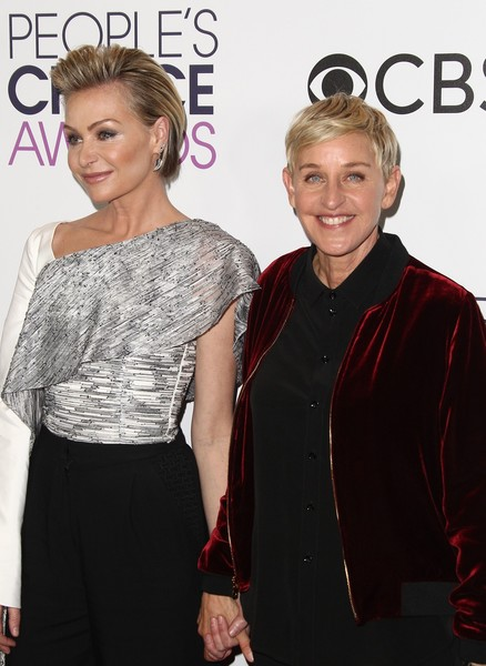 only Degeneres and Portia De