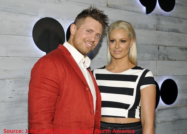 The Miz and his life partner