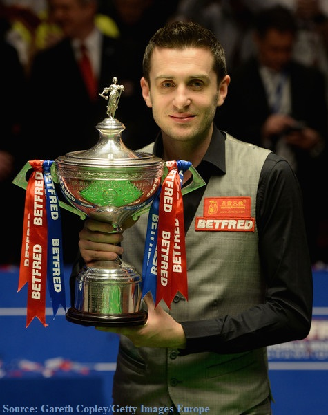 really talented Mark Selby