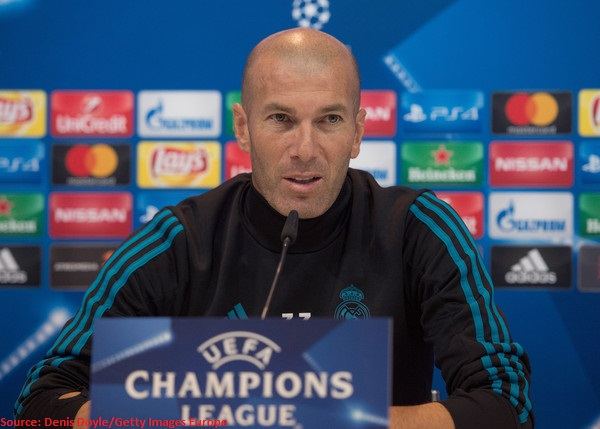 best player and manager Zidane