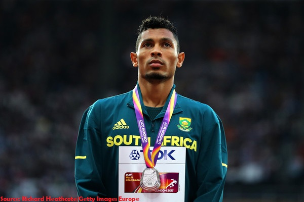 young and talented Wayde van Niekerk