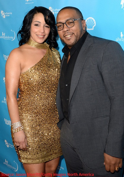 the one Timbaland and his pretty wife