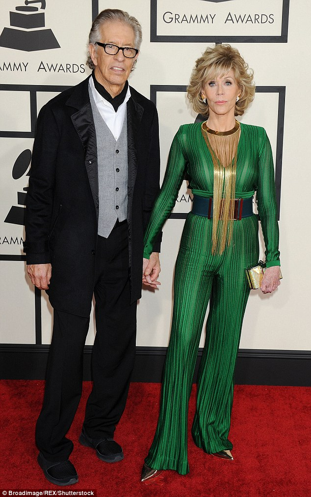Jane Fonda along with Richard Perry