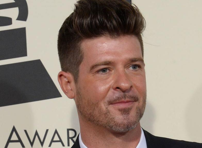 the talented Robin Thicke worth of him