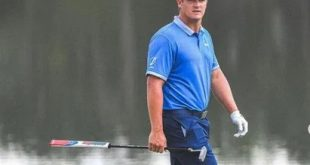 a talented golf player